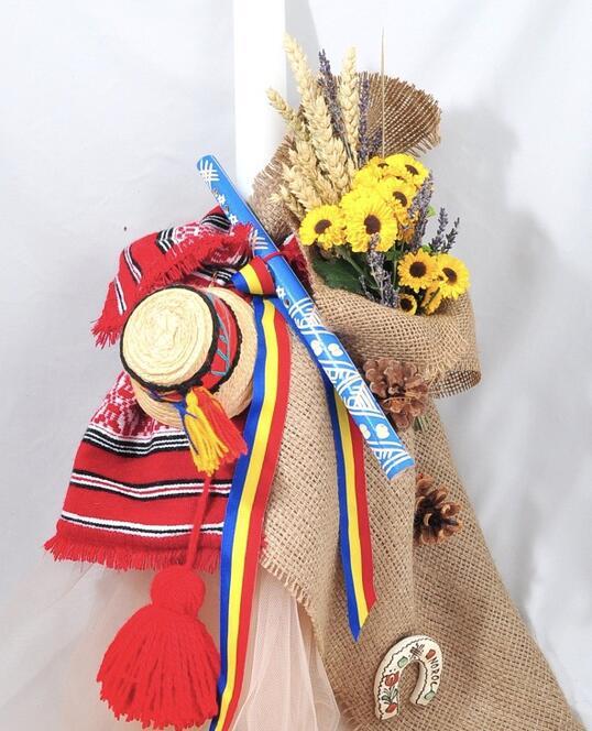 Lumanare de Botez Traditional Romaneasca