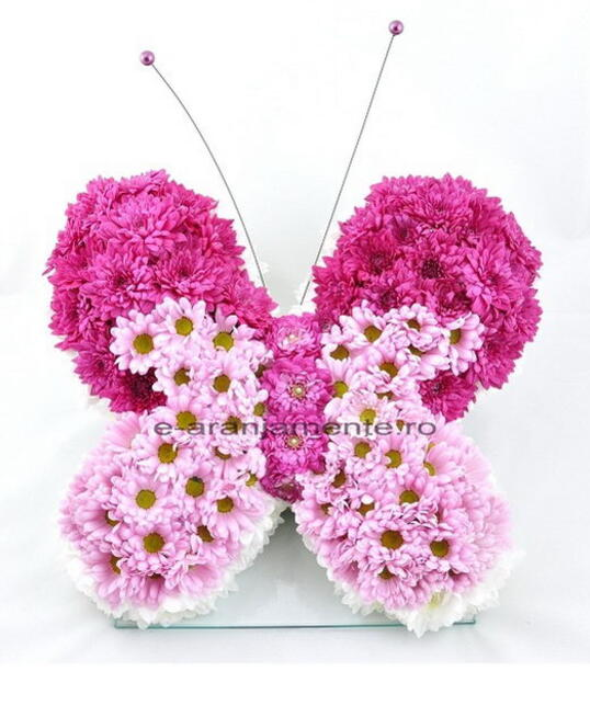 Fluture din Flori