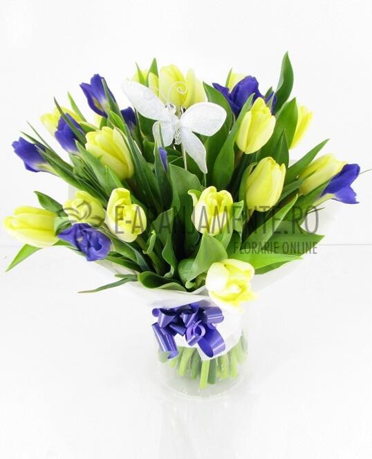 Lalele si Irisi in Vaza