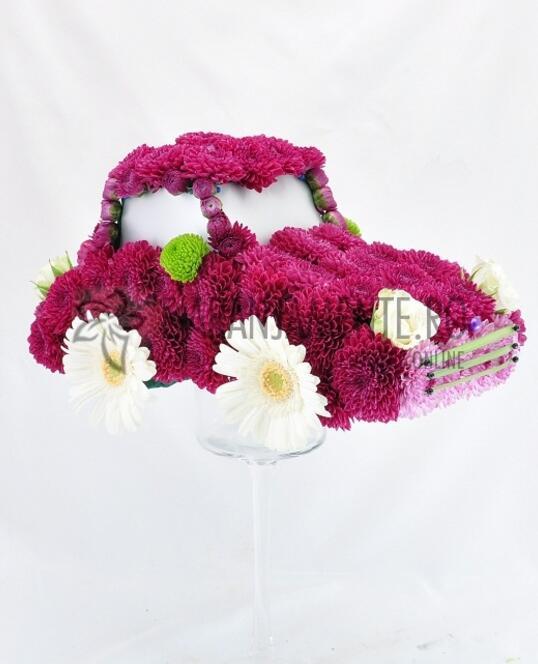 Masinuta din Flori