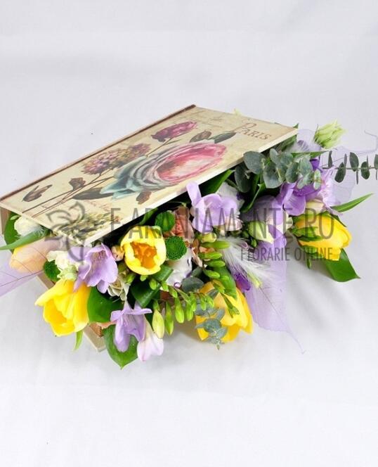 Carte cu Flori de Primavara
