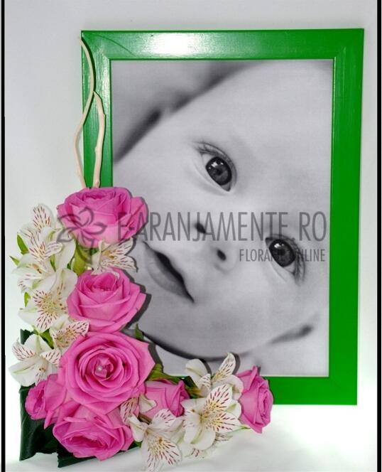 Rama Foto cu Flori